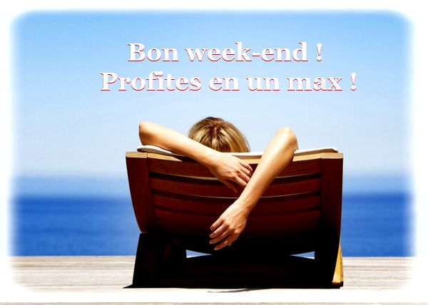 Message bon weekend